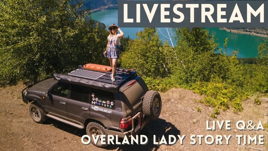 Why I started traveling solo? Overland Lady Story Night - Live Q&A