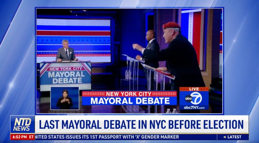 Last Mayoral Debate in NYC Before Election
