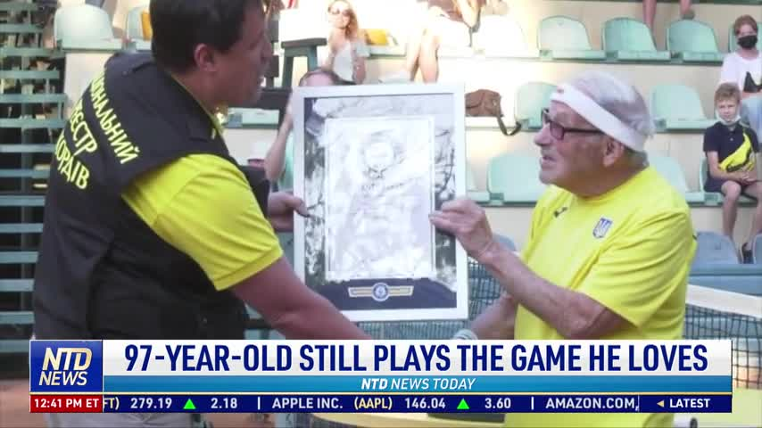 97-Year-Old Still Plays the Game He Loves