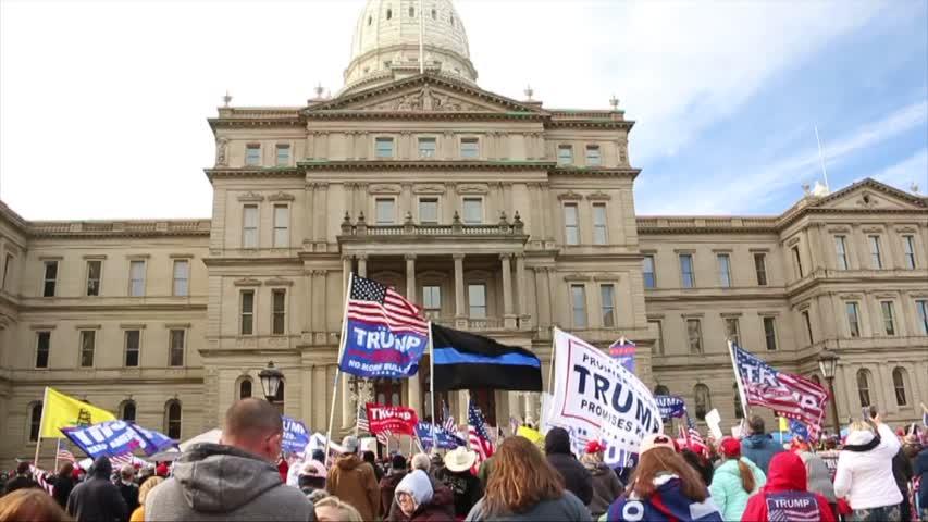 Poll Watcher: Suspicious Biden Vote Swarm