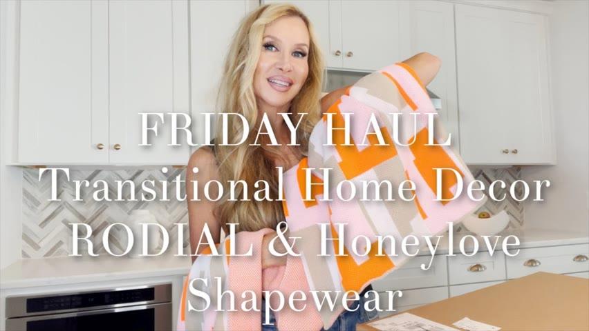 Friday Haul   Home Decor   Honeylove Shapewear   RODIAL Blush Drops