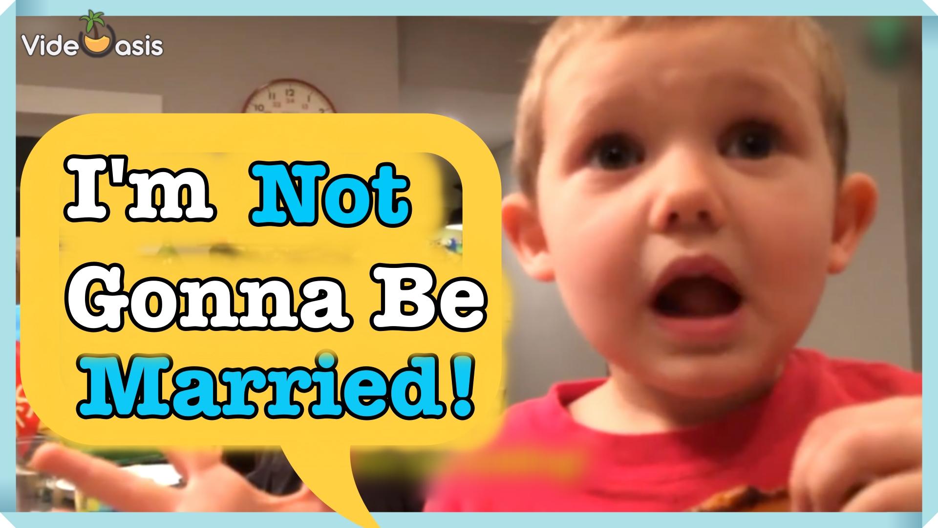 Little Boy Doesn't Want to Get Married|VideOasis