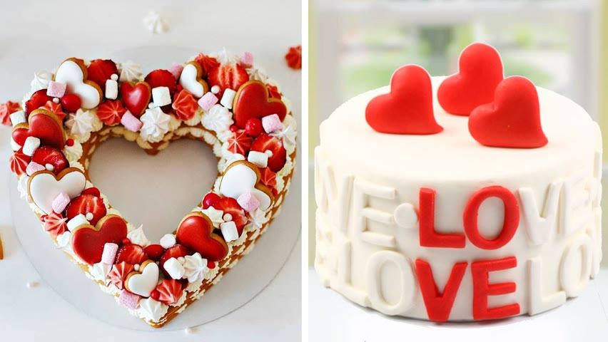 Amazing Heart Cake Decorating Ideas | So Tasty Cake Recipes | Easy Cake Decorating Tutorials