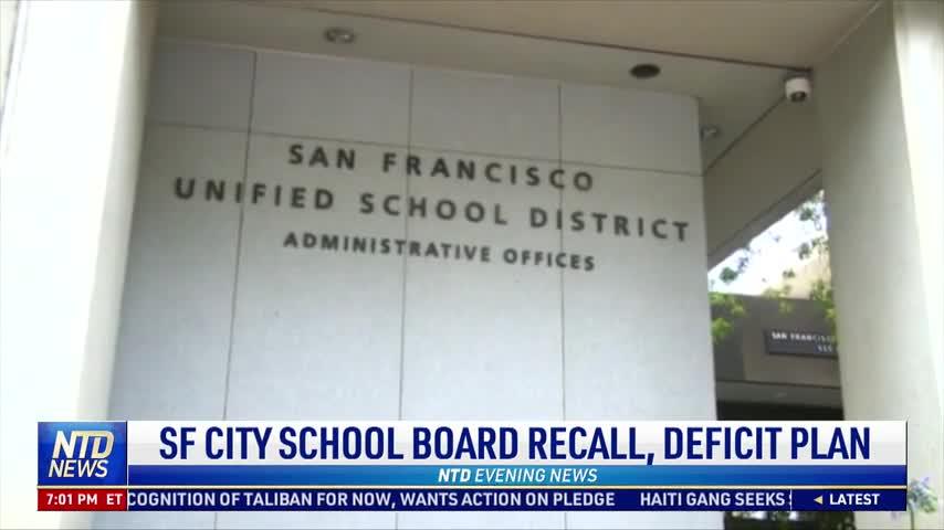 San Francisco City School Board Recall Underway