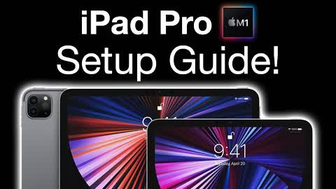 How To Set Up a New iPad Pro M1 2021 - Step By Step Guide!