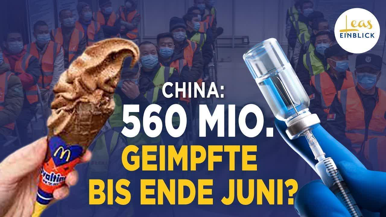 Zuckerbrot und Peitsche – so setzt China die Massenimpfung durch