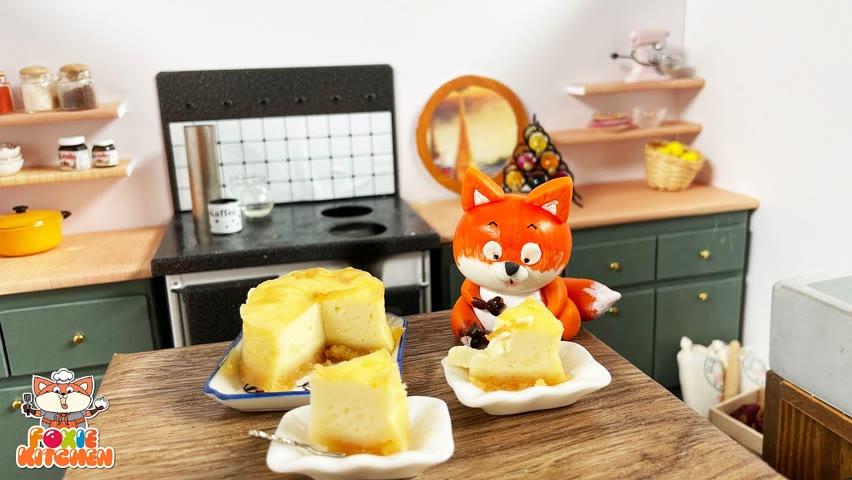 [ENGSUB] New York Cheesecake   ASMR Mini Cooking