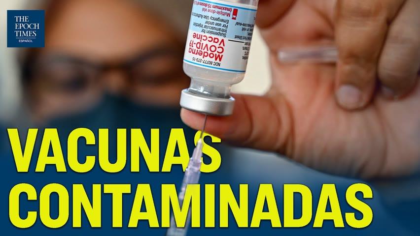 Por contaminación de vacunas COVID se suspende 2.6 millones de dosis de Moderna