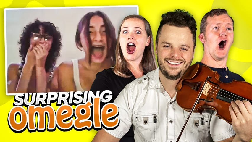 Violinist and Singers AMAZE Strangers on Omegle
