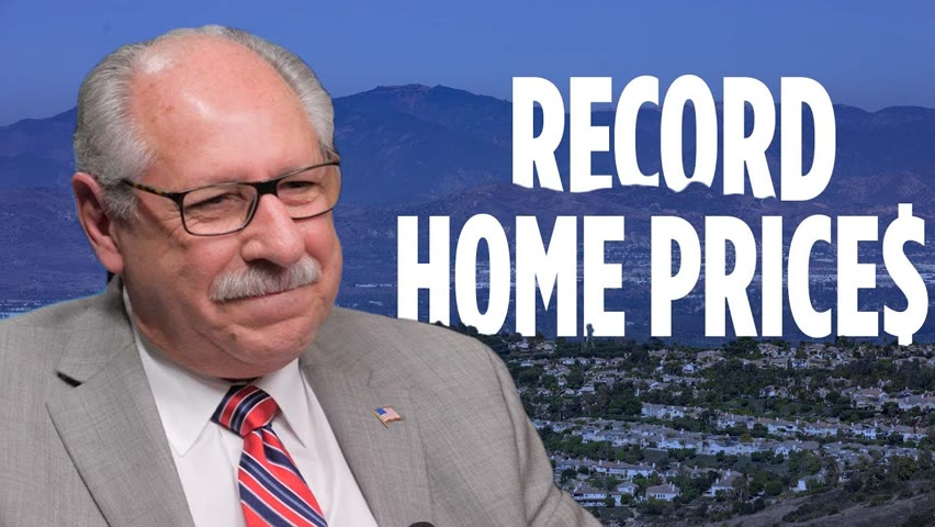 Median Home Price Hits $800,000 in California—Here's Why | Jerry Amante