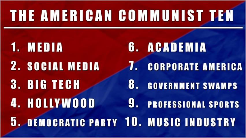 American Communist Ten Lawlessness   The Bulldog Show