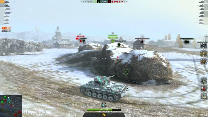 Vickers CR 7538DMG 6Kills   World of Tanks Blitz   ___Armadilos___