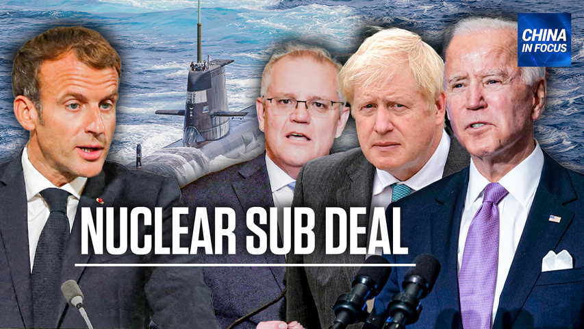 'The bigger threat is coming from China': Anders Corr on the AUKUS submarine deal   China in Focus
