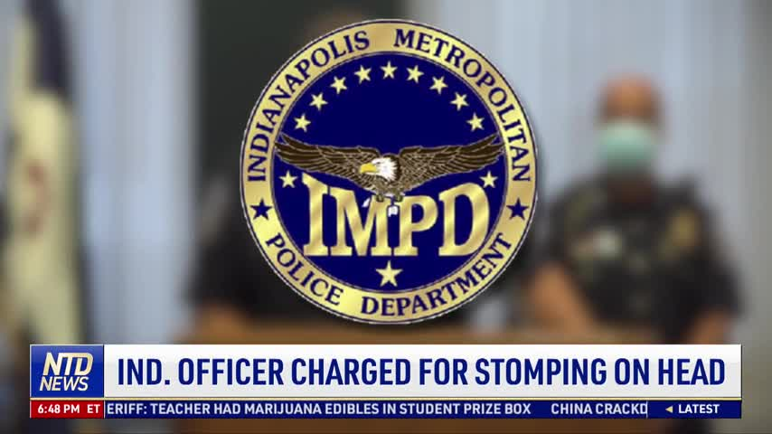 Indiana Officer Charged for Stomping on Suspect's Head