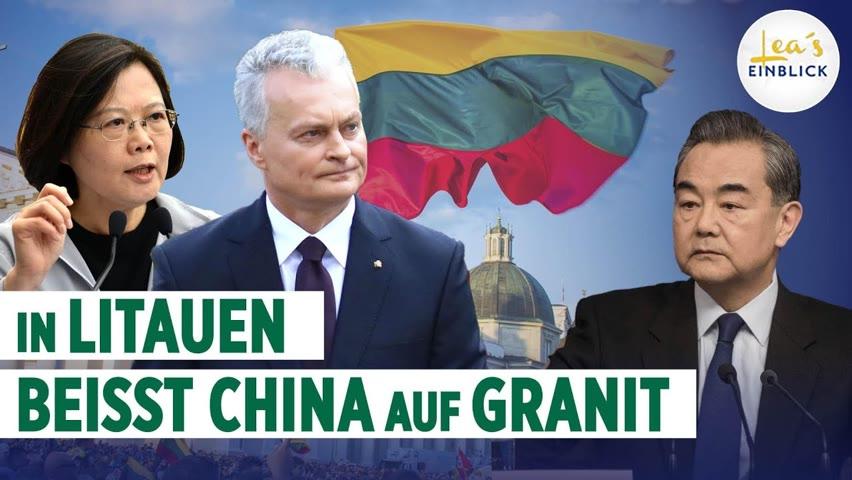David gegen Golliat: Litauen fordert China heraus – EU-Solidarität auf dem Prüfstand