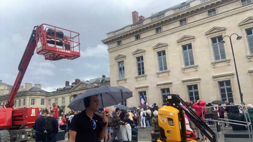 Manifestations contre le passe sanitaire le 7 août à Paris - Live