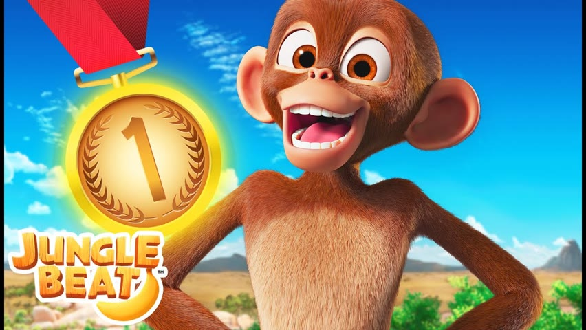 🏅JUNGLE OLYMPICS 🏅 | Jungle Beat NEW Episode! | VIDEOS and CARTOONS FOR KIDS 2021
