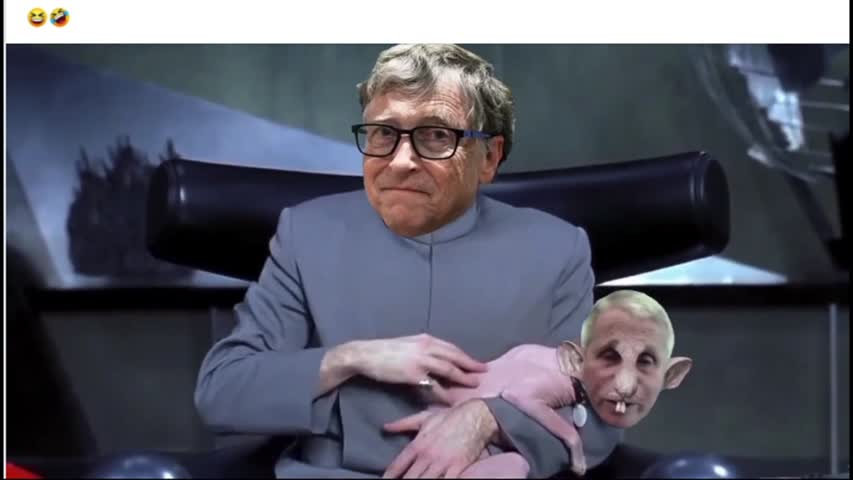 Fauci and Gates You have to see this funny  one