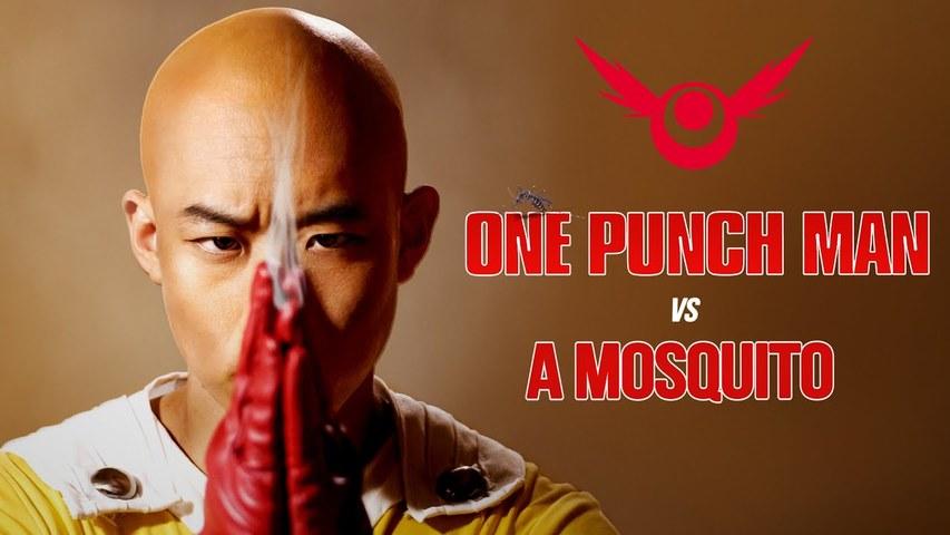 Saitama Vs Mosquito - One Punch Man (Live-Action) 埼玉大战蚊子 - 一拳超人(真人版)