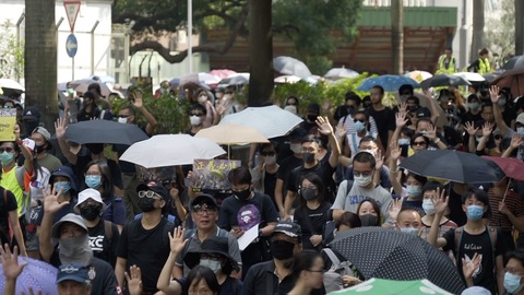 CLASHES IN HONG KONG ON 20TH STRAIGHT WEEKEND OF PROTESTS