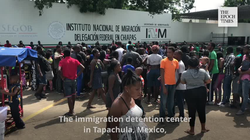 Thousands of africans haitians heading to the us