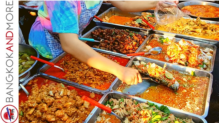 Exciting STREET FOOD Market In Bangkok - What's Your Favorite One?