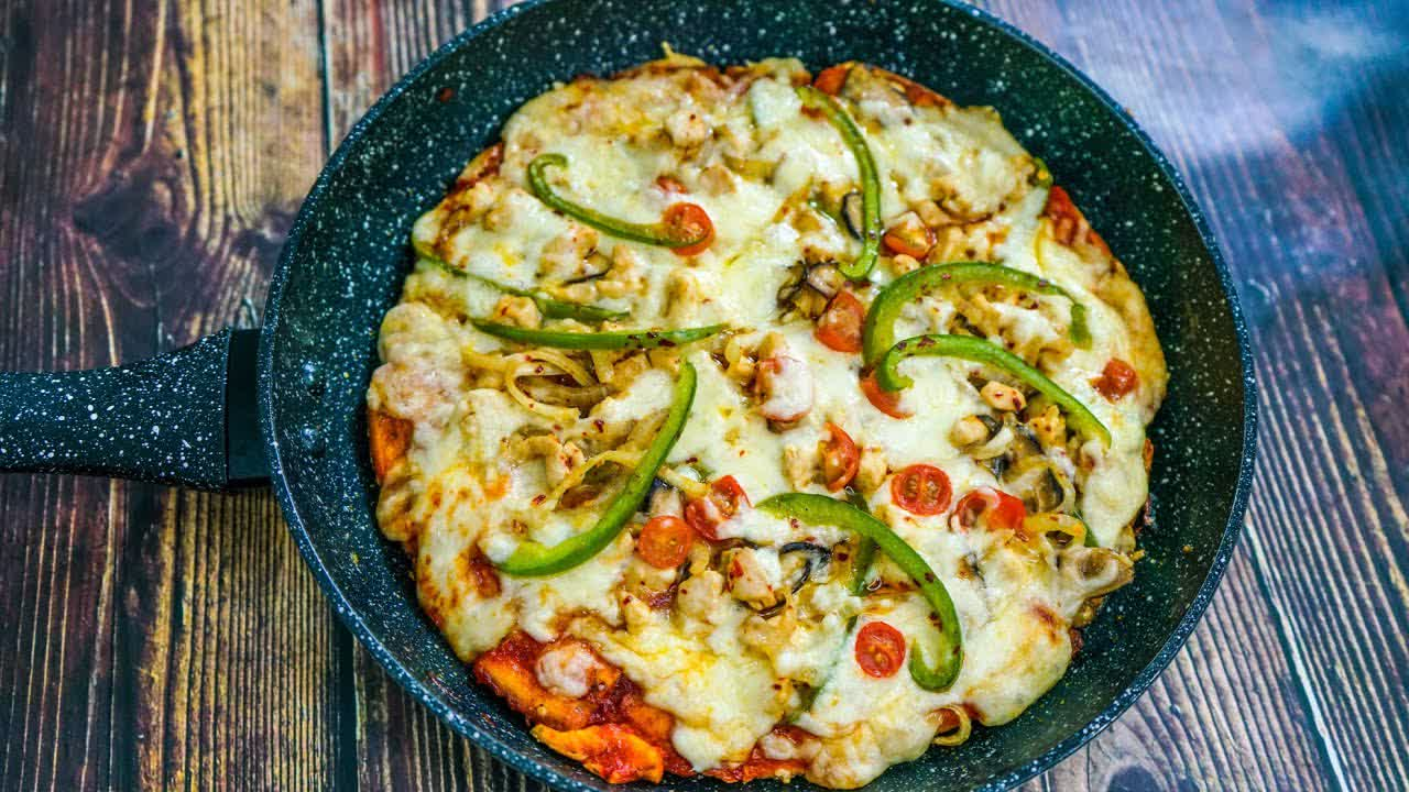 Pizza Menggunakan Roti Gardenia   MyDapur Panas