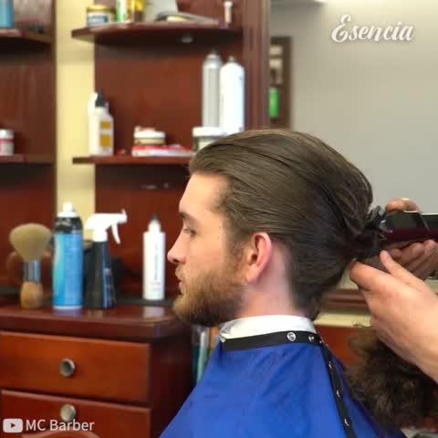 Cambio extremo con un nuevo corte de pelo
