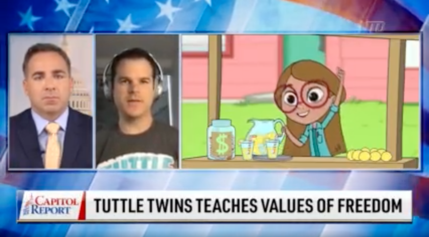 Tuttle Twins TV Series Fuses Entertainment With Substance for Children