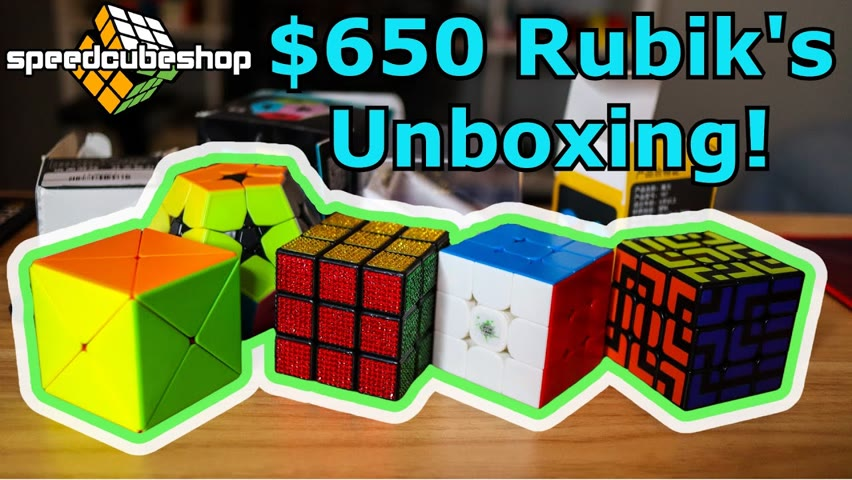$650 Unboxing from SpeedCubeShop!