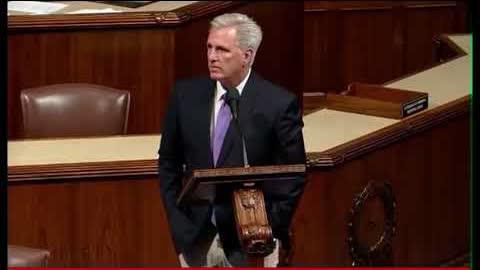 #McCarthy rebuked Biden and Pelosi on Congress floor 众议院共和党领#袖麦卡锡 痛斥#拜登 和#佩洛西。请转发!让华裔選民和被洗腦的兒女们都来听听!