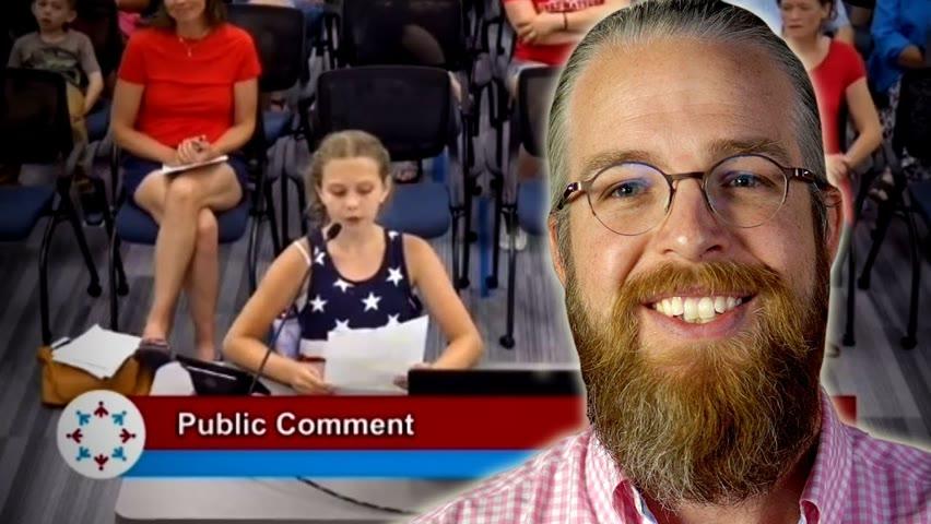 9 Year Old BLASTS School Board for BLM Hypocrisy