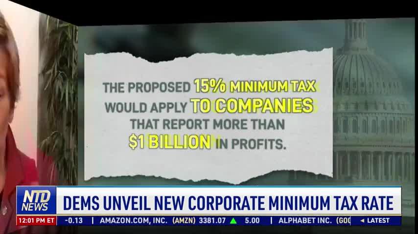 Democrats Unveil New Corporate Minimum Tax Rate