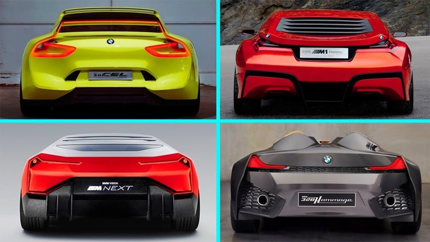 TOP 10 Coolest BMW Concept Cars Ever!