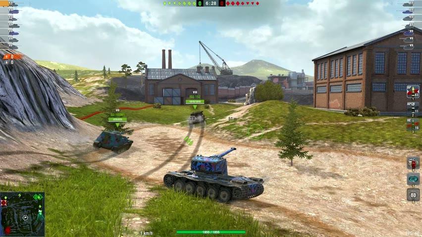 WT Auf Pz.IV & Emil 1 & T57 Heavy - World of Tanks Blitz