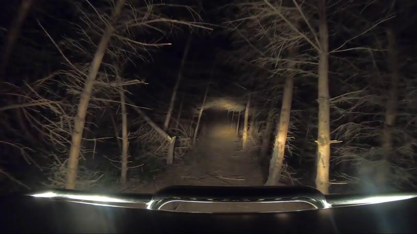 Noaptea spre Cabana cu Toyota Landscruiser