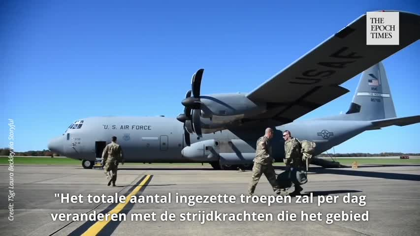 US Deploys Thousands of Troops to Mexico Border_Dutch subs
