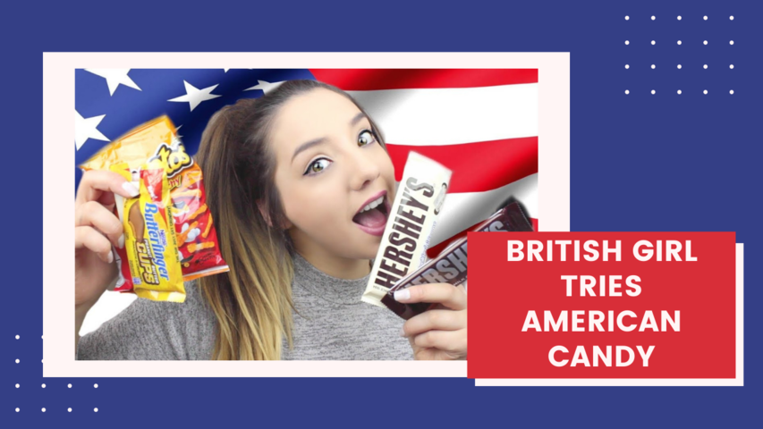 British Girl Tries American Candy