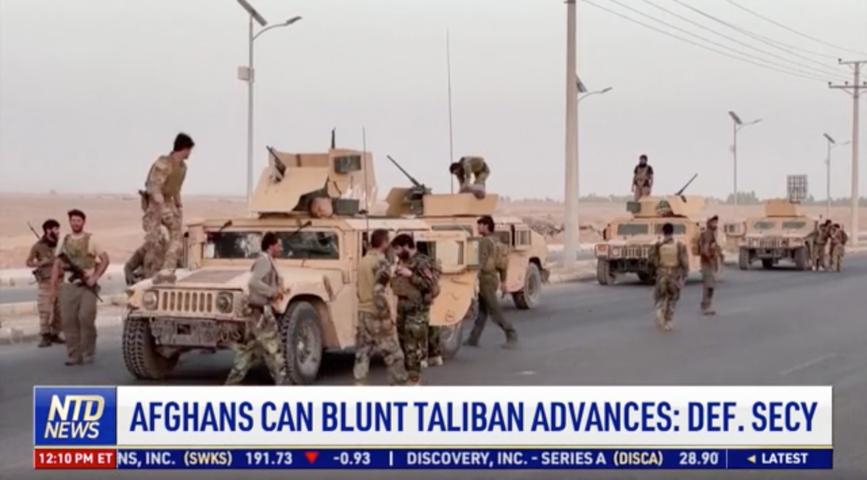 More US Airstrikes Amid Taliban Offensive