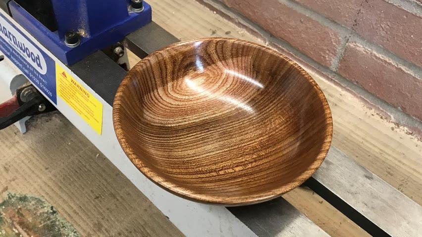 Wood turning - Elm Bowl