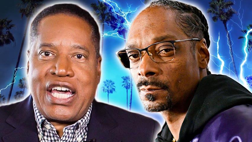 Larry Elder SLAMS Snoop Dogg and Obama for Helping Newsom | Larry Elder