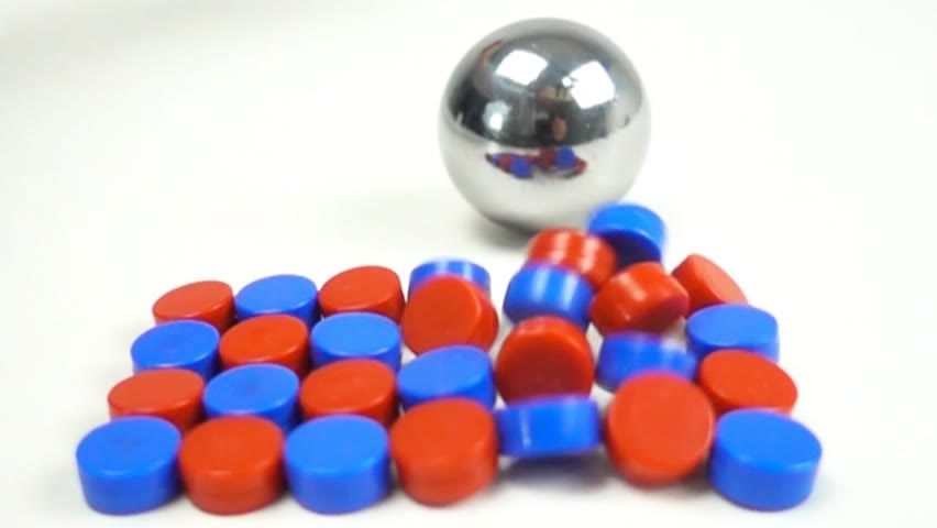 Magnetic Impacts in Slow Motion   Magnetic Games