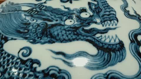 天球瓶永宣不分?(下)画风篇#古董#文物#北京故宫博物院#紫禁城