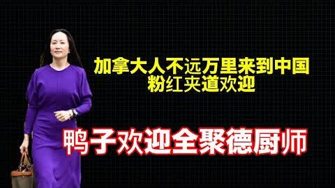 孟晚舟回国,恒大业主和小粉红爱国热情空前高涨,感动中国。