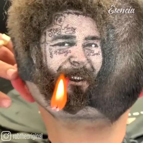 Diagonal View   Crazy men hair transformation 😱