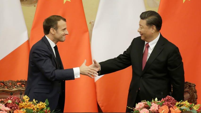 France-Chine, les deux perdants de l'AUKUS main dans la main