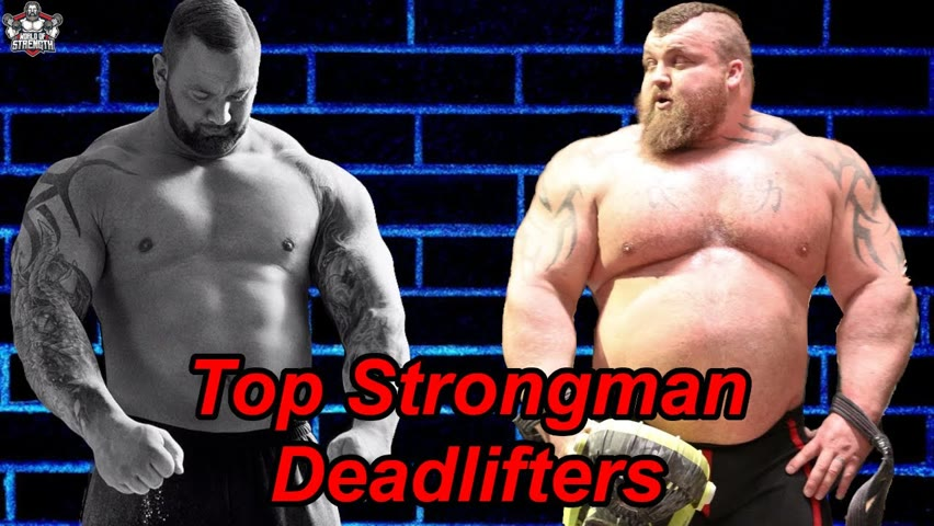 Top 7 All Time Strongman Deadlifters