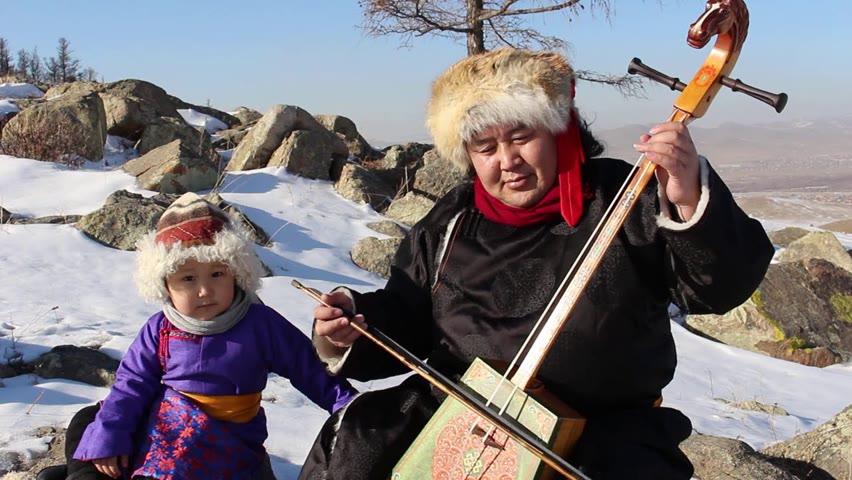 Improvisation of Mongolian Throat singing