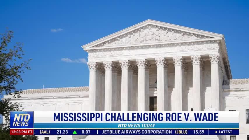 Mississippi Challenging Roe v. Wade
