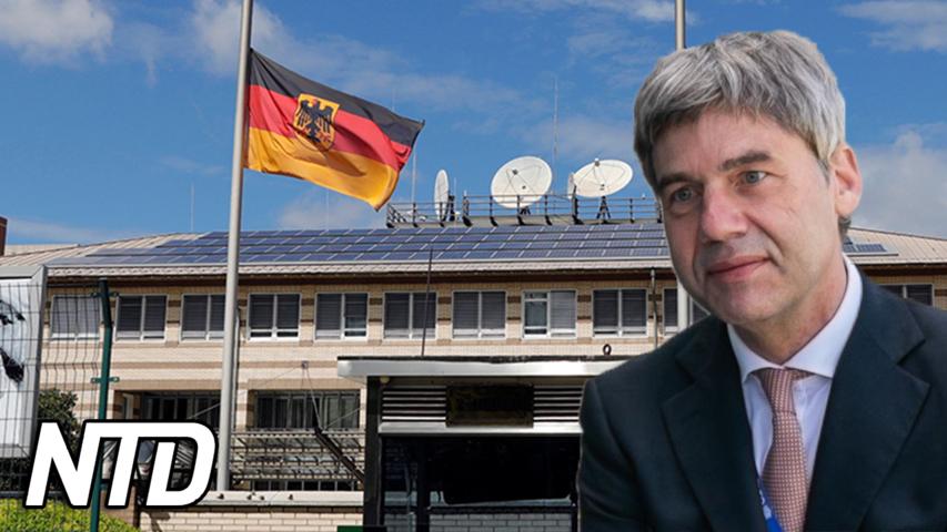 Tysklands nya ambassadör i Kina avlider | NTD NYHETER